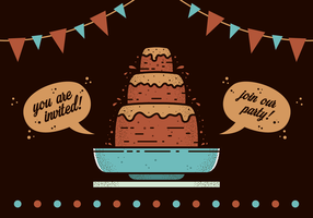 Free Chocolate Fountain Vector