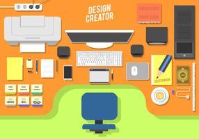 Design Schöpfer freien Vektor