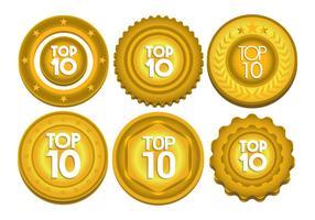 Top 10 vector set