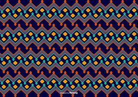 Fundo de padrão de estilo Dayak