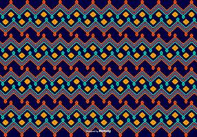 Dayak Style Pattern Bakgrund