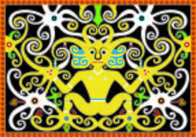 Dayak Pattern Vector