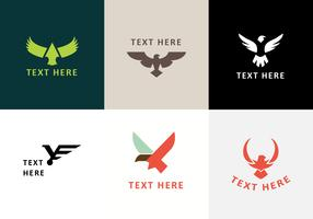 Buzzards Emblem Logo Vektorer