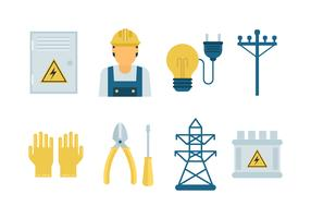 Free Lineman Vector Icons