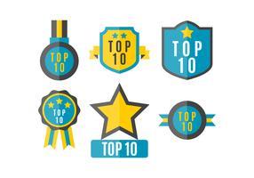 Gratuit Top 10 des vecteurs