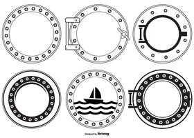 vector porthole collectie