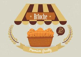 Brioche Background Vector
