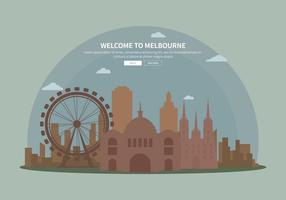 Gratis Silhouette Melbourne Illustration