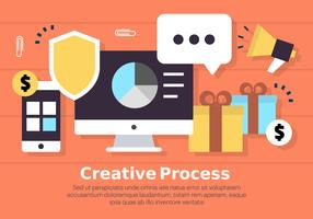 Free Digital Marketing Business Vector Illustration