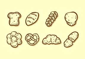 Hand Drawn Brioche Free Vector
