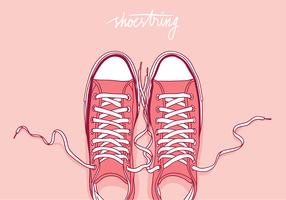 Shoestring Free Vector