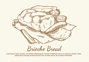 Brioche Vector Illustration