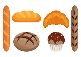 Brioche Bread Vector Collection