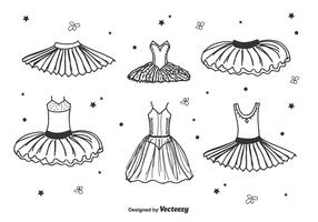 Hand Drawn Tutu Vector