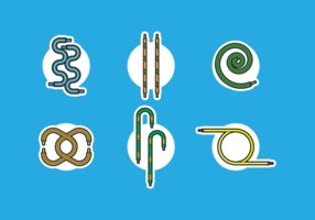 Shoestring Gratis Vector Icon Pack