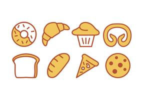 Bake and Bakery Icon Set