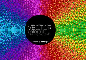 Vector Abstract Colorful Tiled Background