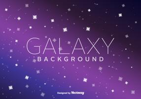 Galaxy Vector Bakgrund