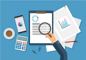Revenue Checking Free Vector