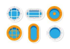 Flat Porthole Vectors