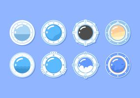 Circle Porthole Free Vector