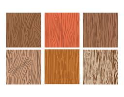 Woodgrain vector set