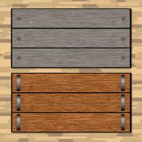Woodgrain Vector Signs