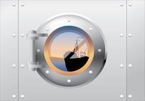 porthole fri vektor