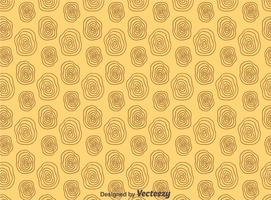 Circle Woodgrain Patroon Vector