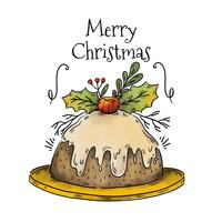 Lindo pastel de Navidad