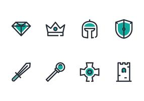 King Icon Set
