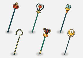 Scepter Vector Pack