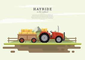 Vector libre de Hayride