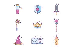Medieval Fantasy Icons