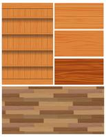 Vectores de fondo de grano de madera