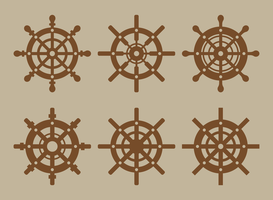 Vecteur de roue de navires