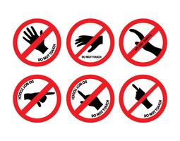 Do not touch vector set