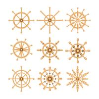 Free Ships Wheel Vector Collection