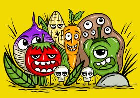 Vegetable Character Vectors