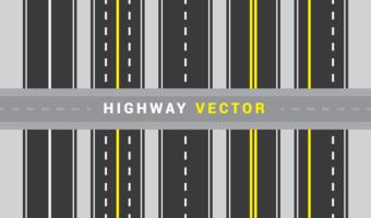 Autobahn Vektor