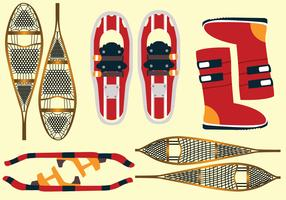 Snow Shoes Vector Pack