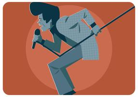 Klassieke James Brown Vector