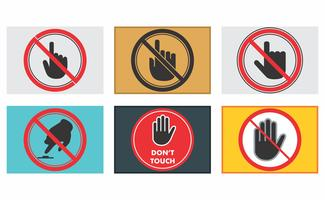 Não toque no pacote vetorial