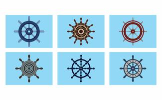 Ships Wheel Vector Pack