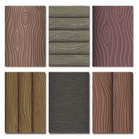 Woodgrain Vector Pattern Collection