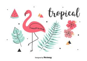 Tropical Vector Set