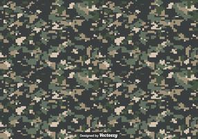 Textura de vetor de camuflagem digital