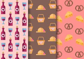 Free Seamless Picnic Food Patterns