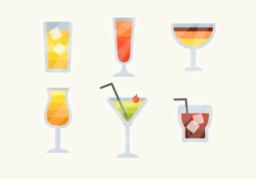 Gratis Cocktail Drank Vector