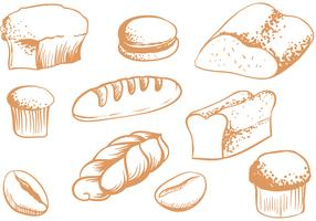 Free Breads Vectors